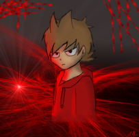 The Red Hoodie: Tord by amythystanime