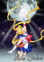 Sailor Moon Crystal by AlbertoSanCami