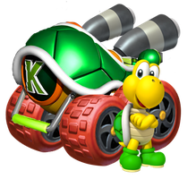 Koopa Troopa by Galaxy-Afro