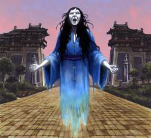 Wailing Apparition by ChrisQuilliams