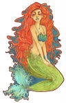 The Little Mermaid - Ariel by roolph