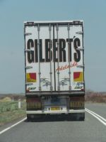Stuart Highway - Gilbert's Transport Road Train by TricoloreOne77