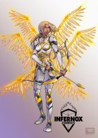 Sera the Seraphim by Carlos Sneak by BlaineDaymon
