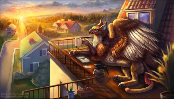 Coffee and Chill by Red-IzaK