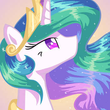 Princess Celestia by Lortstreet54
