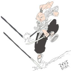 usagi yojimbo! by zeusbaba