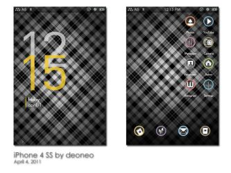 iPhone SS: April 2011 by deoneo