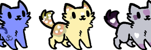 Little kitty adopts (name your price) by Silversadopts