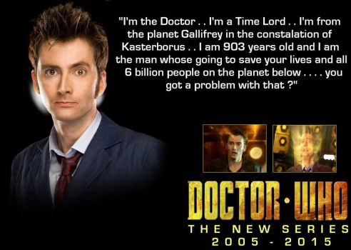 Doctor Who - T.N.S. - The 10th Doctor by DoctorWhoOne