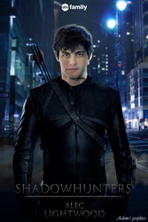 ALEC LIGHTWOOD / FAN-POSTER by AdamGraphicsOfficial