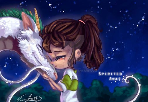 Spirited Away by Chibi-Joey