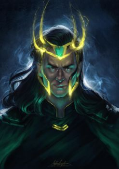 God of Mischief by AngieParadiseeker