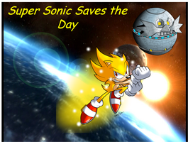 Super Sonic Saves the Day by FrostTheHobidon