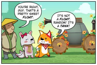 Rocket Fox 15 panel 1: Nobody, Nowhere by StacyKing