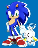 Sonic And Hero Chao by SuperSonicFan1991