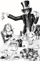 AliceInWonderland_A CUP OF TEA? by Dietlinde