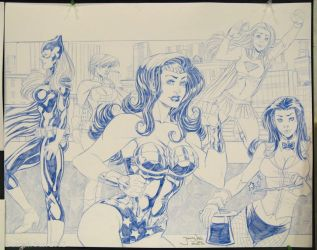 DC Ladies HeroesCon 2012 by thejeremydale