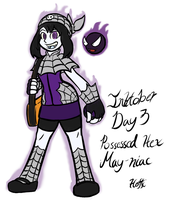 Inktober day 3 - Hex May-niac by PainfulElegy