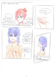 DDLC what happened after pg 9 by negriwtf by negriwtf