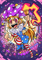 Clownpiece's Ultimate Lunar Circus by catscr123