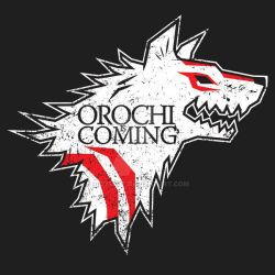Orochi is Coming by Moysche