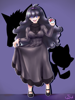 Hex Maniac Cropped Ver. by Roxaile