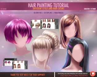 Hair Painting Tutorial by Axsens