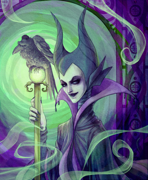 Maleficent by Bo-Po-Mo-Fo