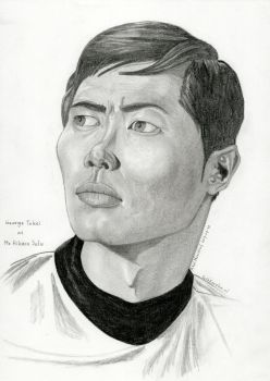2017-07-30-Portrait-Gerge Takei aka Mr Sulu by SethApophis
