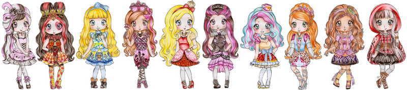 Ever After High by Bee-chii