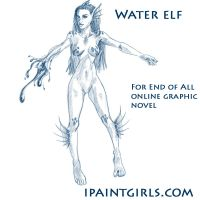 Water Elf from End of ALl by discipleneil777