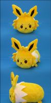 Stacking Plush: Small Jolteon by Serenity-Sama