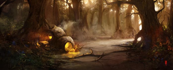 Yoda's place by TitusLunter