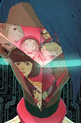 HaloGen Issue #4 Cover by AfuChan