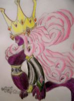 Shadow Queen from Paper Mario by Allikiza