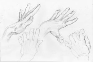 Hands scrabbles #4 by Feael