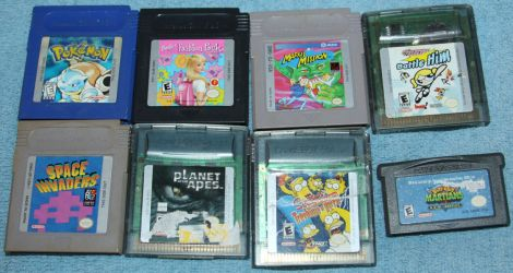 Gameboy/Gameboy Advance Games-4Sale- NeedNewHomes by Lovely-DreamCatcher