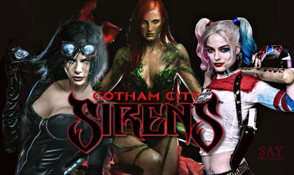 Gotham City Sirens by saywonderland
