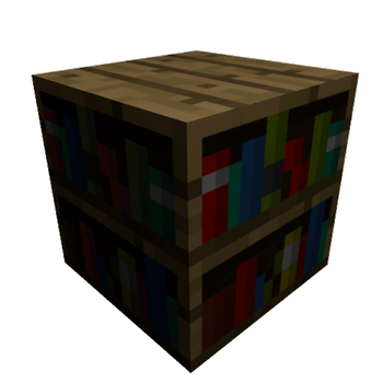 LDaxin 33 4 Minecraft Bookshelf Block By