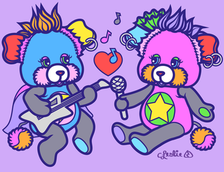 Vector - Rock Popples by firstfear