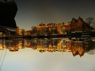 Reflections of Amsterdam 23 by amstersam