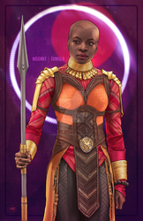 Okoye by msdoomandgloom