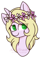 - Headshot Comission - For LaprasGirl313 by trash-ley