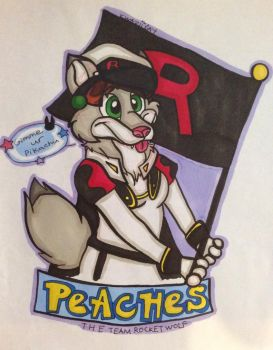 Badge: Team Rocket FURever! by KwaziiCat