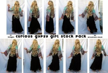Curious Girl Pack by archetype-stock