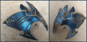 Leather Marth Mask by JAFantasyArt