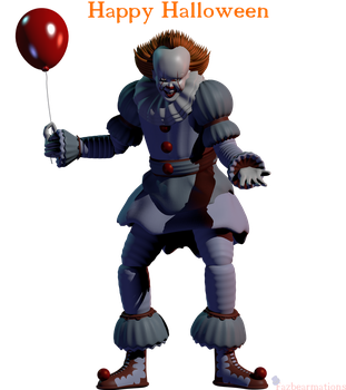 [Blender IT] Pennywise the Dancing Clown by Fazbearmations