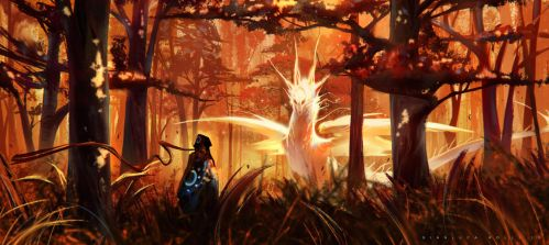 Forest of the Sun by GianlucaRolli