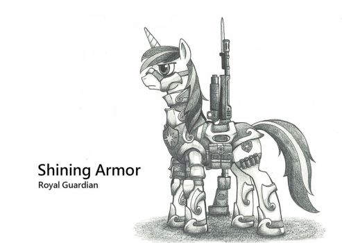 Shining Armor by george5408