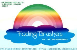 Brushes - Fading by lilbrokenangel